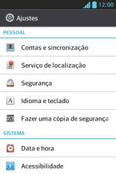 LG Optimus L5 - Segurança - Como trocar o código PIN do seu celular - Etapa 4