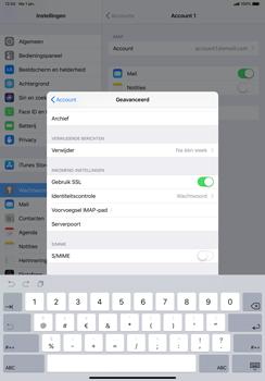 Apple ipad-pro-11-inch-2018-model-a1934 - E-mail - Account instellen (IMAP met SMTP-verificatie) - Stap 25