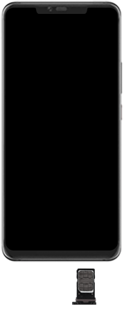 Huawei Mate 20 Pro - Toestel - Simkaart plaatsen - Stap 5
