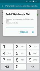 Samsung Galaxy S6 Edge - Sécuriser votre mobile - Personnaliser le code PIN de votre carte SIM - Étape 9
