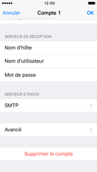 Apple iPhone 5s iOS 9 - E-mail - Configurer l