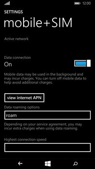 Microsoft Lumia 640 XL - Internet - Usage across the border - Step 5