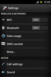 Sony C1505 Xperia E - WiFi and Bluetooth - Manual configuration - Step 4