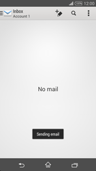 Sony Xperia T3 - Email - Sending an email message - Step 14