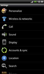 HTC S510e Desire S - Network - Usage across the border - Step 4