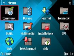 Nokia E71 - MMS - envoi d'images - Étape 2