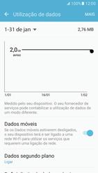 Samsung Galaxy S7 - Internet no telemóvel - Como ativar os dados móveis -  6