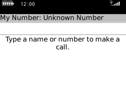 BlackBerry 8520 Curve - Voicemail - Manual configuration - Step 3