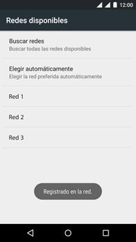 Motorola Moto X Play - Red - Seleccionar una red - Paso 11