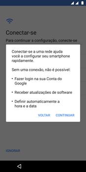 Motorola Moto E5 - Primeiros passos - Como ativar seu aparelho - Etapa 10