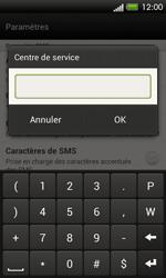 HTC C525u One SV - SMS - configuration manuelle - Étape 8