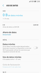 Samsung Galaxy S6 - Android Nougat - Internet - Activar o desactivar la conexión de datos - Paso 7