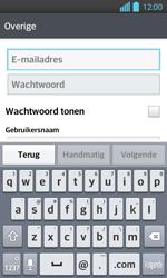 LG P710 Optimus L7 II - E-mail - e-mail instellen: IMAP (aanbevolen) - Stap 6