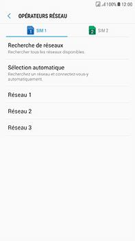 Samsung Galaxy J7 (2017) - Réseau - Sélection manuelle du réseau - Étape 10