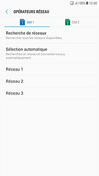 Samsung J730F Galaxy J7 (2017) (DualSIM) - Réseau - utilisation à l'étranger - Étape 13