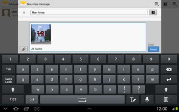 Samsung P5100 Galaxy Tab 2 10-1 - MMS - envoi d'images - Étape 12