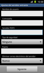 Samsung I8160 Galaxy Ace II - E-mail - Configurar correo electrónico - Paso 10