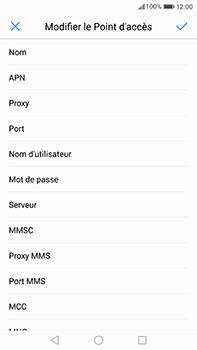 Huawei P10 Plus - Internet - Configuration manuelle - Étape 9
