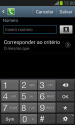 Samsung I8190 Galaxy S III Mini - Chamadas - Como bloquear chamadas de um número específico - Etapa 10