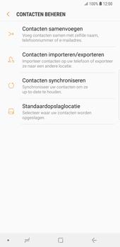 Samsung Galaxy S9 Plus (SM-G965F) - Contacten en data - Contacten kopiëren van toestel naar SIM - Stap 6