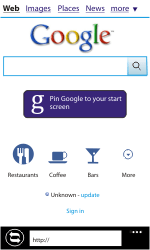 Samsung I8350 Omnia W - Internet - Internet browsing - Step 6