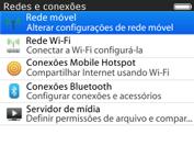 BlackBerry 9620 - Rede móvel - Como ativar e desativar uma rede de dados - Etapa 5