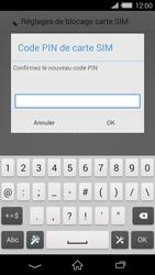 Sony Xperia Z2 - Sécuriser votre mobile - Personnaliser le code PIN de votre carte SIM - Étape 9