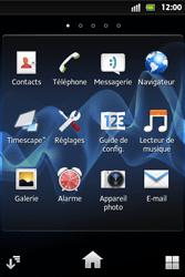 Sony ST27i Xperia Go - Messagerie vocale - configuration manuelle - Étape 4