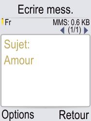 Doro Phone Easy 621 - Contact, Appels, SMS/MMS - Envoyer un MMS - Étape 10