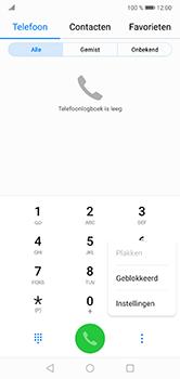 Huawei P20 Lite - Voicemail - Handmatig instellen - Stap 4
