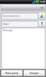 LG P970 Optimus Black - E-mail - envoyer un e-mail - Étape 4