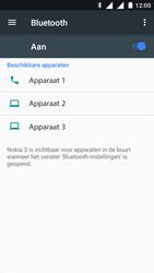 Nokia 3 - Bluetooth - koppelen met ander apparaat - Stap 8