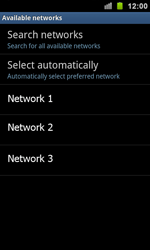 Samsung I9100 Galaxy S II - Network - Usage across the border - Step 8