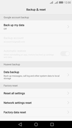 Huawei Y6 II - Device maintenance - Create a backup of your data - Step 5