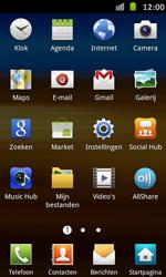 Samsung I9070 Galaxy S Advance - Voicemail - Handmatig instellen - Stap 3