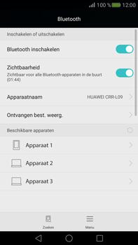 Huawei Mate S - Bluetooth - koppelen met ander apparaat - Stap 7