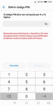 Huawei Y6 (2018) - Segurança - Como ativar o código de bloqueio do ecrã -  7