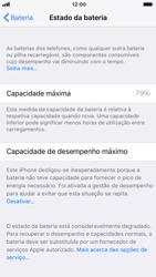 Apple iPhone 6 - iOS 11 - Bateria - Desactivar a gestão de desempenho -  8