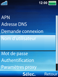Sony Ericsson W100i Spiro - Internet - Configuration manuelle - Étape 9