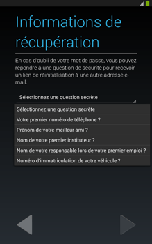 Samsung Galaxy Tab 3 8 4G - Premiers pas - Créer un compte - Étape 18
