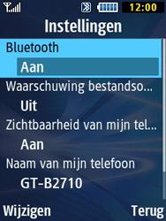 Samsung B2710 Xcover 271 - Bluetooth - Aanzetten - Stap 7