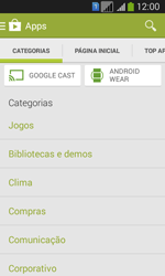 Samsung SM-G3502T Galaxy Core Plus Duo TV - Aplicativos - Como baixar aplicativos - Etapa 6