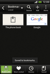HTC A320e Desire C - Internet - Internet browsing - Step 10