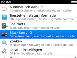 BlackBerry 9900 Bold Touch - BlackBerry activeren - BlackBerry ID activeren - Stap 5
