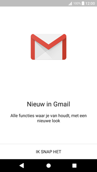 Sony Xperia L2 - E-mail - handmatig instellen (gmail) - Stap 5
