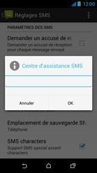 HTC Desire 310 - SMS - Configuration manuelle - Étape 9