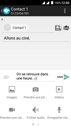 Wiko Freddy - Contact, Appels, SMS/MMS - Envoyer un MMS - Étape 13