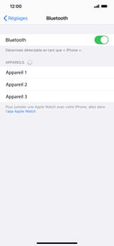 Apple iPhone XR - iOS 13 - Bluetooth - connexion Bluetooth - Étape 7