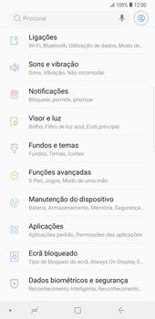 Samsung Galaxy Note9 - Internet no telemóvel - Como configurar ligação à internet -  4