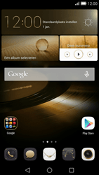 Huawei Ascend Mate 7 4G (Model MT7-L09) - Applicaties - Account aanmaken - Stap 1